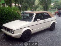 VOLKSWAGEN Golf Cabriolet 1600 (Photo 1)