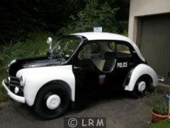 RENAULT 4 CV POLICE PIE (Photo 1)